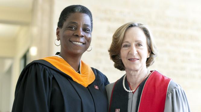 Ursula Burns and Susan Hockfield